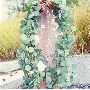 🌻2 Hanging Eucalyptus Vine Garlands🌻